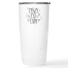 Crazy Cat Lady Travel Coffee Mug