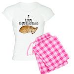 Chihuahua Kiki Women's Light Pajamas