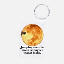 Jumping Over the Moon (Weird) Keychains