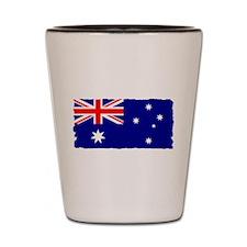 Flag of Australia Shot Glass