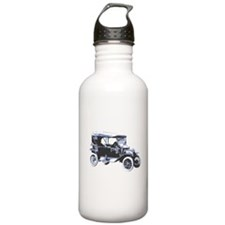 Funny Old car Water Bottle