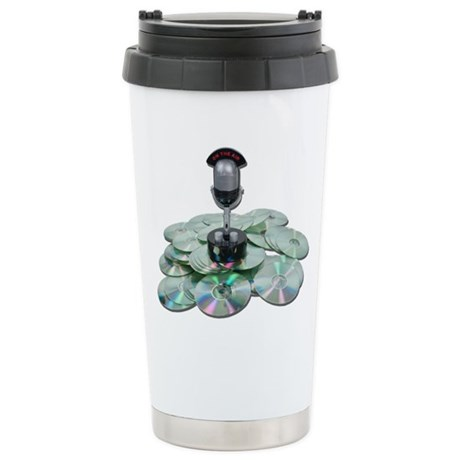 Saved Broadcasts Stainless Steel Travel Mug