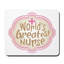 World's Greatest Nurse Mousepad