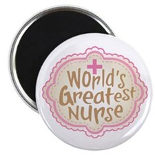 "World's Greatest Nurse 2.25"" Magnet (10 pack)"