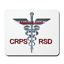 CRPS / RSD Medical Alert Mousepad