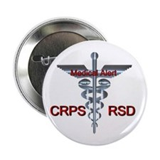 "CRPS / RSD Medical Alert 2.25"" Button (10 pac"