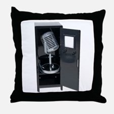 Sports Announcements Throw Pillow