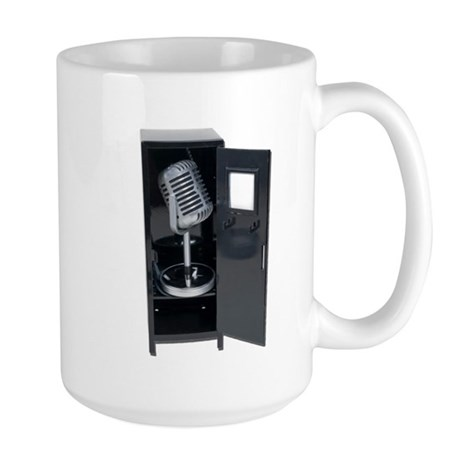 Sports Announcements Large Mug