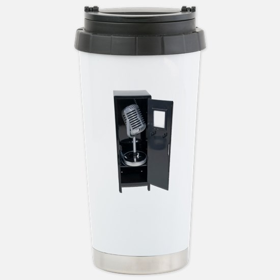 Sports Announcements Stainless Steel Travel Mug