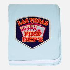 Las Vegas Fire Department baby blanket