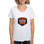 Las Vegas Fire Department Women's V-Neck T-Shirt