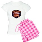 Las Vegas Fire Department Women's Light Pajamas