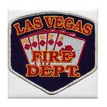 Las Vegas Fire Department Tile Coaster
