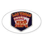 Las Vegas Fire Department Sticker (Oval)