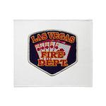 Las Vegas Fire Department Throw Blanket