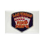 Las Vegas Fire Department Rectangle Magnet (100 pa