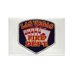 Las Vegas Fire Department Rectangle Magnet (10 pac