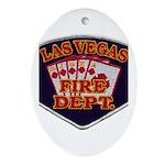 Las Vegas Fire Department Ornament (Oval)