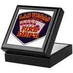 Las Vegas Fire Department Keepsake Box