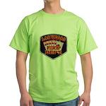 Las Vegas Fire Department Green T-Shirt