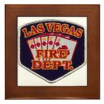 Las Vegas Fire Department Framed Tile