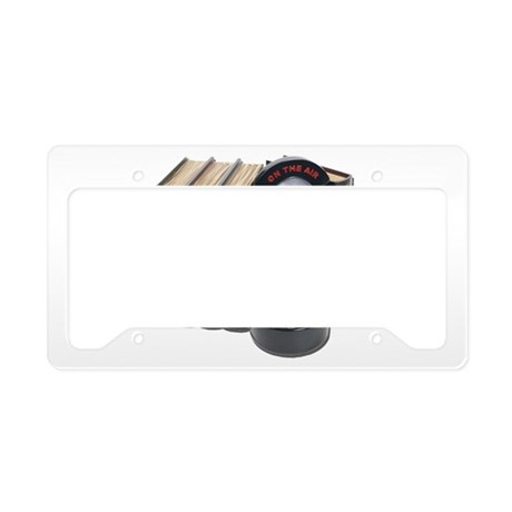Story Broadcasts License Plate Holder