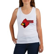 Cardinals In the Red Zone Women's Tank Top