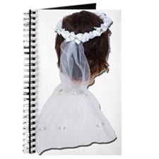Wearing Lace Veil Journal