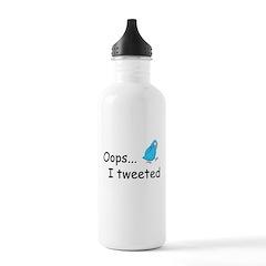 Oops I Tweeted Water Bottle