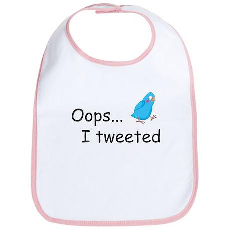 Oops I Tweeted Bib