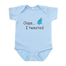 Oops I Tweeted Infant Bodysuit