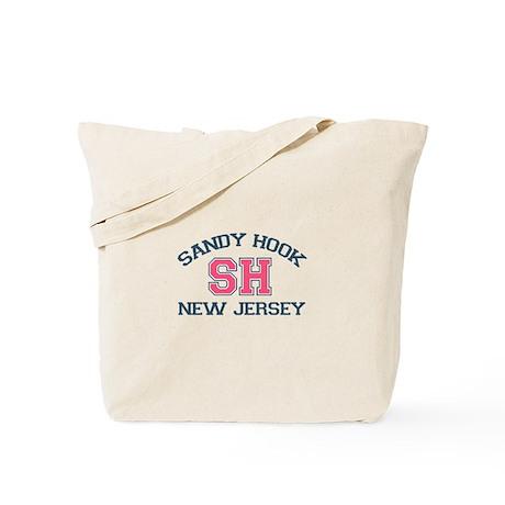 Sandy Hook NJ - Varsity Design Tote Bag