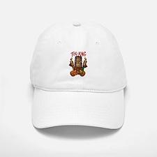 The Tiki King crossed Ukes Logo. Baseball Baseball Cap