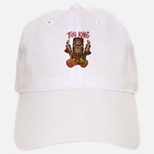 The Tiki King crossed Ukes Logo. Cap