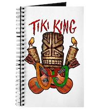 The Tiki King crossed Ukes Logo Journal
