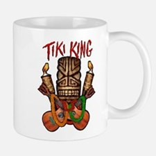 The Tiki King crossed Ukes Logo Mug