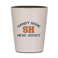 Sandy Hook NJ - Varsity Design Shot Glass