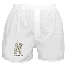 Wire Fox Terrier Tail WFT Boxer Shorts