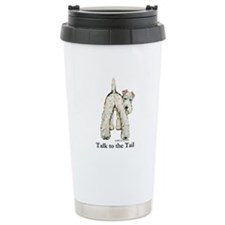Wire Fox Terrier Tail WFT Travel Mug