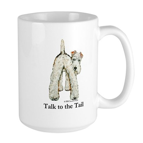 Wire Fox Terrier Tail WFT Large Mug