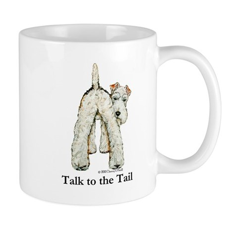 Wire Fox Terrier Tail WFT Mug