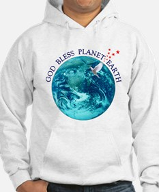 God Bless Planet Earth Hoodie