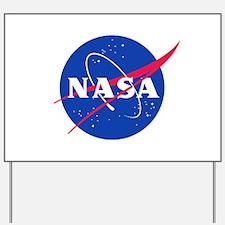 NASA Yard Sign
