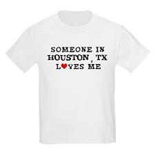 Someone in Houston Kids T-Shirt