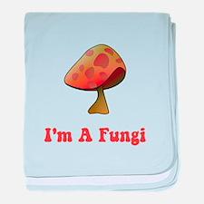 Fungi baby blanket