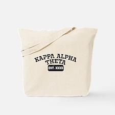 Kappa Alpha Theta Athletic Personalized Tote Bag