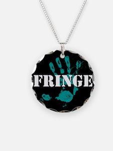 Fringe Handprint Necklace