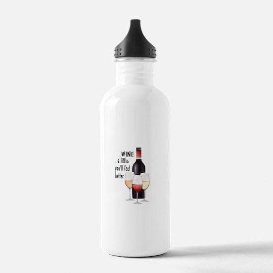 Wine a little Water Bottle
