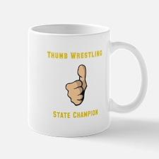 Thumb Wrestling Mug
