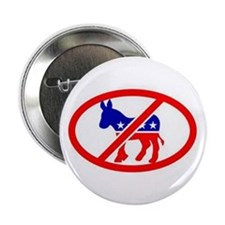 "DUMMY DEMOCRATS 2.25"" Button (100 pack)"